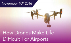 How Drones Make Life Difficult for Airports