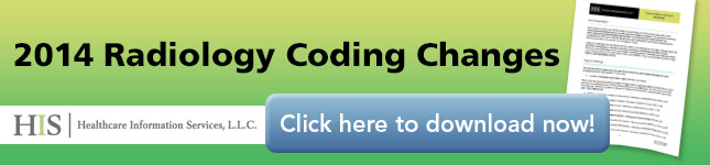 2013 Radiology Coding Changes |Healthcare Information Services