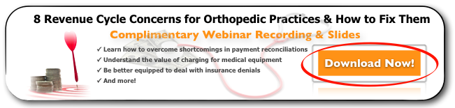 HIS Revenue Cycle Concerns for Orthopedics Webinar