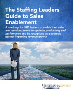 The staffing leaders guide to sales enablement
