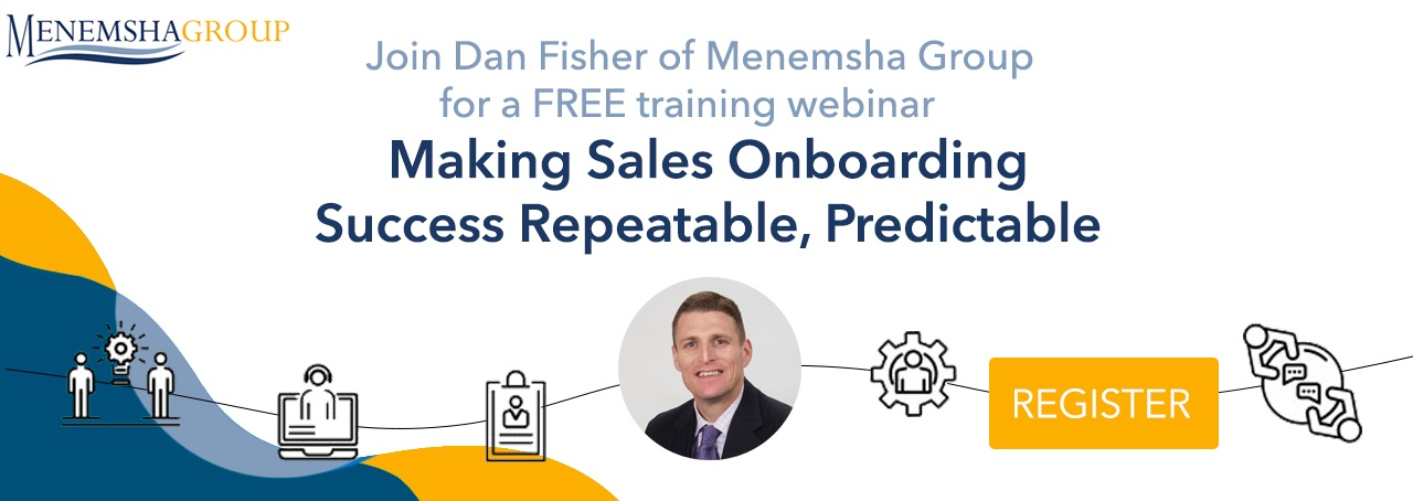Making Sales Onboarding Success Repeatable, Predictable