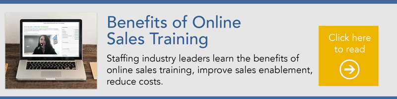 the benefits of online sales training