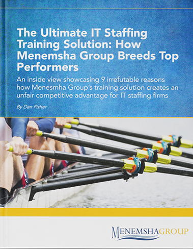 Ultimate IT staffing training solution. Menemsha Group breeds top performers