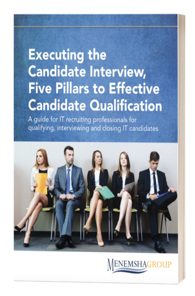 Executing the Candidate Interview, Five Pillars to Effective Candidate Qualification