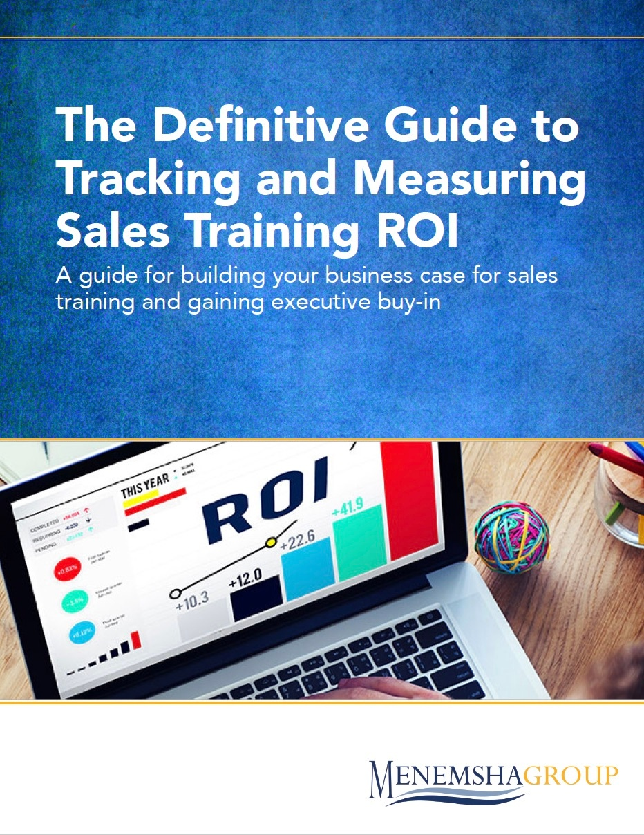 The Definitive Guide to Tracking and Measuring Sales Training ROI
