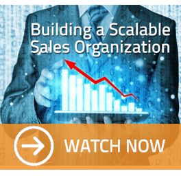 webinar building a scalable sales organization