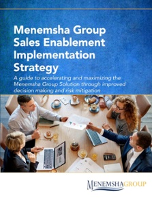 The Menemsha Group Sales Enablement Implementation Strategy Guide