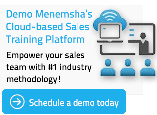 menemsha group cloud based sales training platform