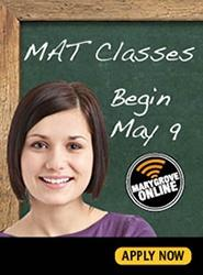 MAT classes begin May 9, 2016