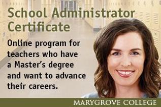 School Administrator Certificate
