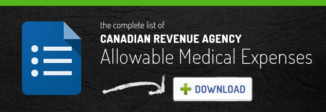 The Complete List of CRA Allowable Medical Expenses