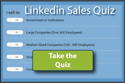 Linkedin Sales Quiz