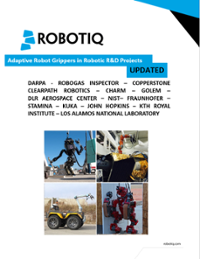 Adaptive Robot Gripper in R&D Projects Ebook Cover Image