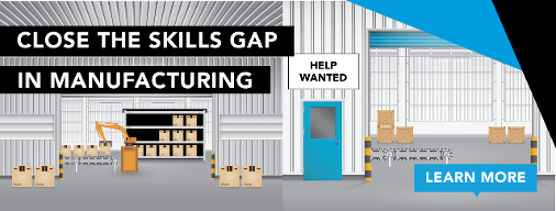 solve the skills gap in manufacturing