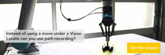 vision locate and path recording
