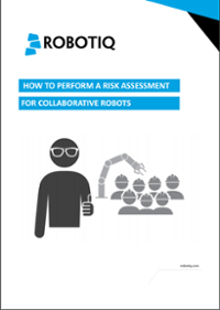 Howto perform a risk assessment for collaborative robots cover image