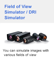 Field of View Simulator / DRI Simulator