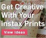 Get Creative With Your instax Prints