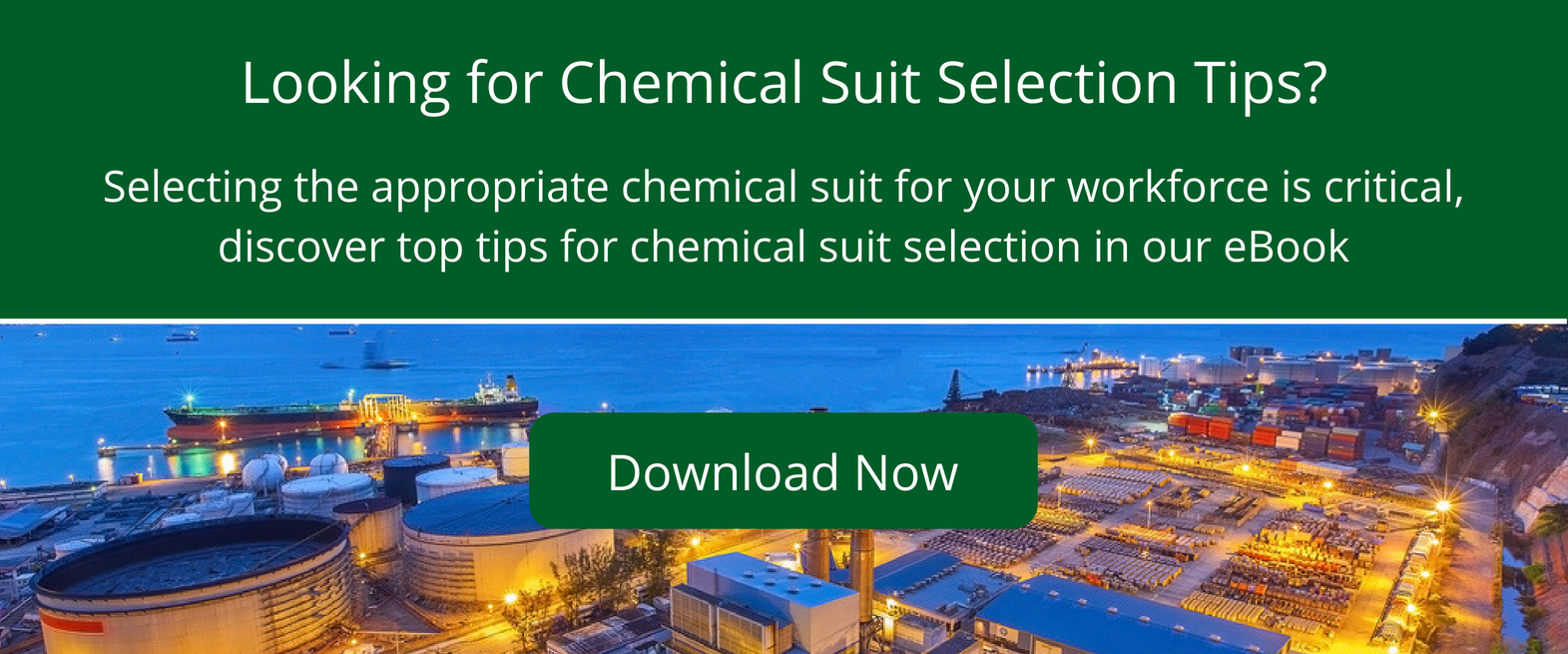 Selecting the right chemical suit for the job