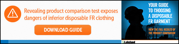 Download your Free Guide - Revealing product comparison test exposes dangers of inferior disposable FR clothing.