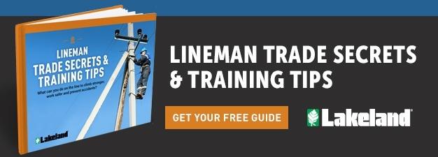 Lineman Trade Secrets & Training Tips guide