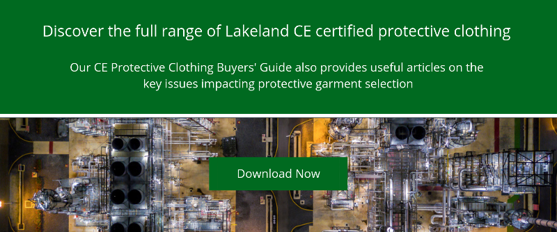 Discover the full range of Lakeland CE certified protective clothing