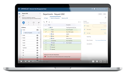 Video: Take a Tour of Enterprise Data Management Cloud