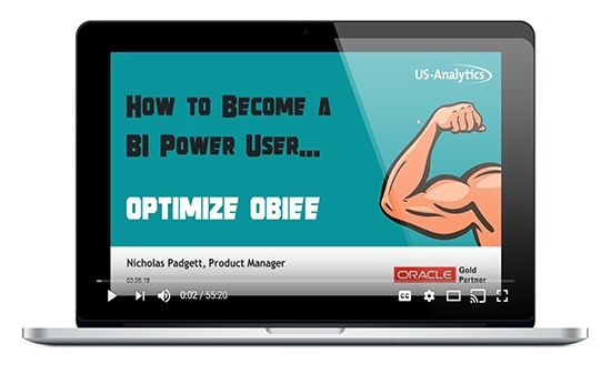 Webinar Replay: Optimize OBIEE Like a Pro