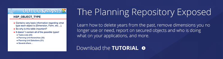 hyperion-planning-repository-tips