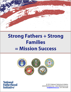 Strong Fathers + Strong Families = Mission Success Military eBook - Free Resources
