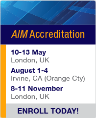 aim change management accreditation
