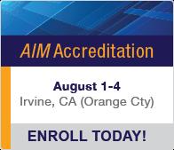 AIM Accreditation August