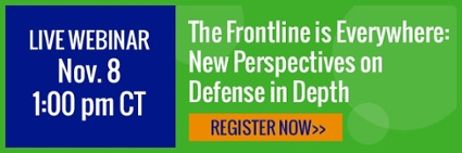 New Perspectives on Defense in Depth webinar 10-18-17 - Register now