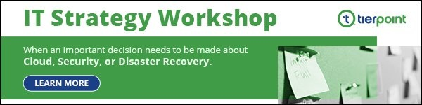 IT Strategy Workshop - when an important decision needs to be made about Cloud, Security, or Disaster Recovery. Learn more...