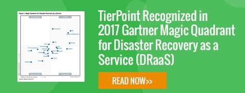 TierPoint Recognized in 2017 Gartner Magic Quadrant for Disaster Recovery as a Service (DRaaS)