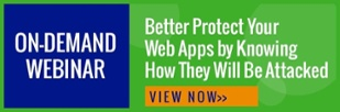 Live webinar 9/7/17 @1:00pm - Better Protect Your Web Apps by Knowing How They Will Be Attacked - register now