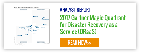 Read the full report - 2017 Gartner Magic Quadrant for DRaaS