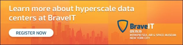 Learn more about hyperscale data centers at BraveIT in NYC on 9/19/19