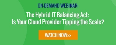 Watch now: The Hybrid IT Balancing Act webinar by TierPoint