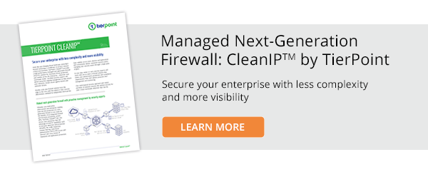 Managed Next-Generation Firewall: CleanIP by TierPoint