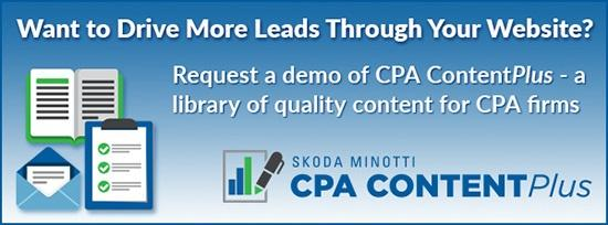 accounting marketing blog content CTA
