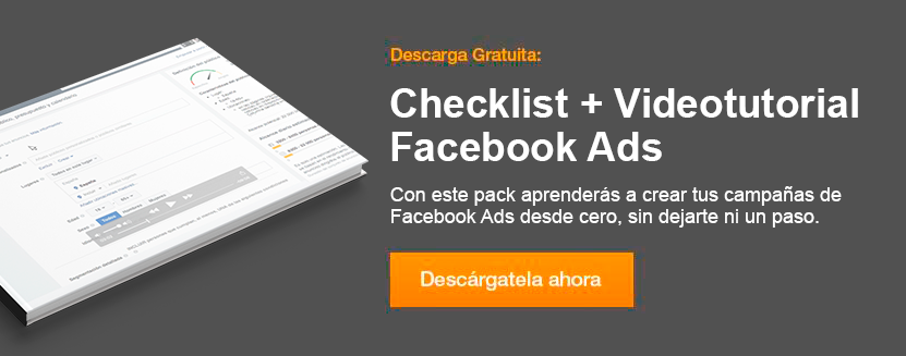 Pack checklist y videotutorial campañas facebook ads