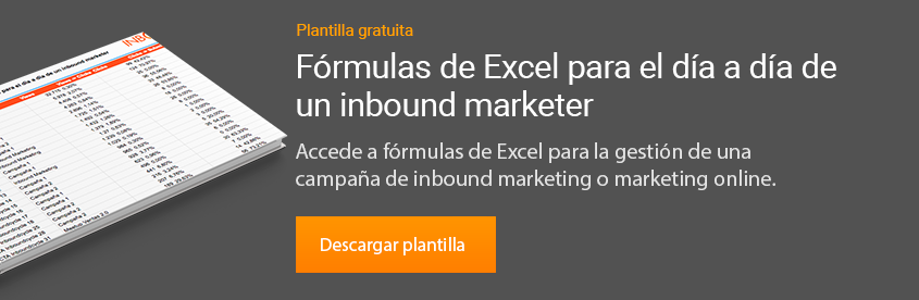 plantilla formulas de excel para marketing