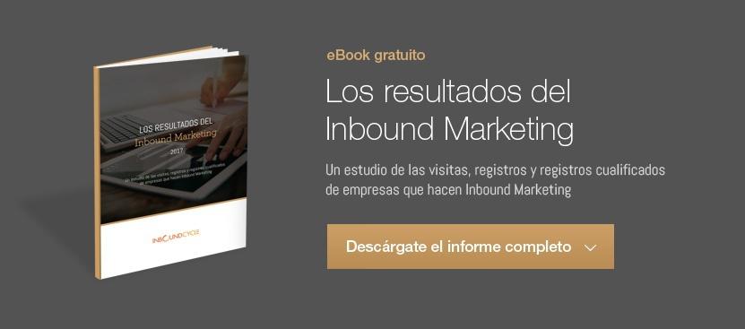 los resultados del inbound marketing