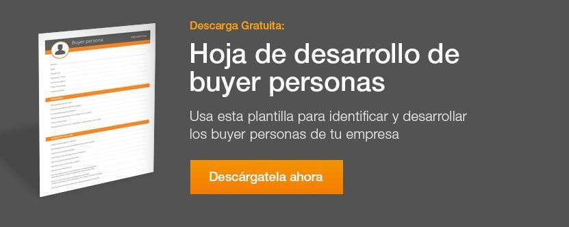 plantilla de buyer persona