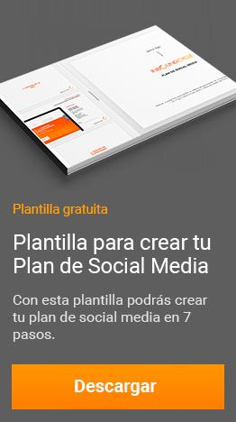 plantilla plan de social media