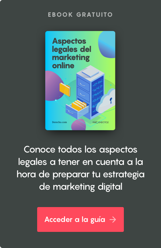 aspectos legales marketing online