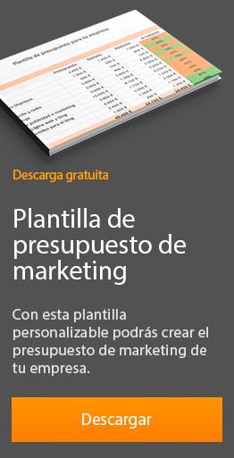 plantilla presupuesto marketing gratuita