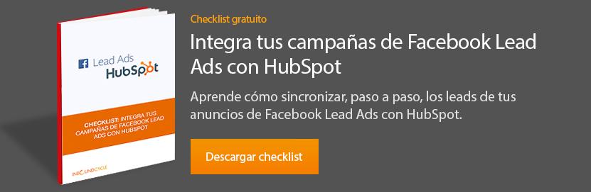 checklist-facebook-lead-ads-hubspot