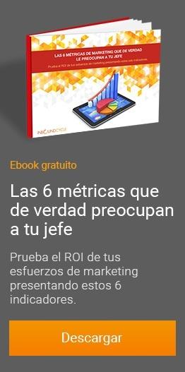 6 Metricas para marketing online